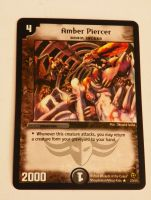 Duel Masters cards Amber Piercer Brain Jacker Evo Crushinators of Doom DM02
