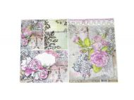 Rice paper for decoupage A3