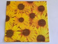 Decoupage Napkins  sunflower scrapbook craft decor