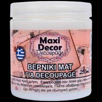 Polish paint mat 100ml for all surfaces decoupage water base