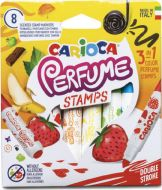 Carioca perfume stamps 8 scented stamp markers