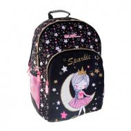 Backpack MUST Sparkle Moon Glow in dark girl school