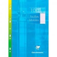 Feuilles simples mobiles Clairefontaine 21x29.7 perforees seyes petits carreaux 100pages  Cancel Save