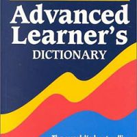Oxford Advanced Learner's Doctionary English language