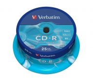 Verbatim CD-R Extra Protection 700mb pack of 25 cds