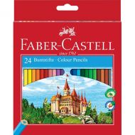 Coloured pencils Castle hexagonal cardboard box of 24 (#111224)