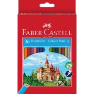 Coloured pencils Castle hexagonal cardboard box of 36 (#120136)