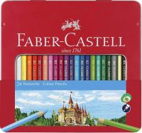 Faber-Castell 115886 Hexagonal Colour Pencil (Pack of 36)