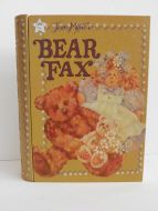 STORAGE BOX BOOK ORGANIZATION BEAR DOLL JEAN MYER TOLE PAINT DECORATIVE HOME