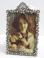 Photo picture frame old style vintage decorative collectible home deco
