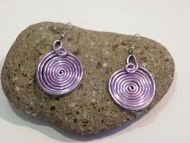 Fine earrings elegant 100% handmade by Cecile French design woman girl jewelry