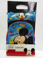 Mickey backpack and pencil case gift set mini boys