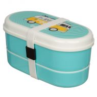 LUNCH BOX 1100ML  WITH SPOON AND FORK