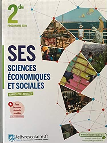 Ses 2nde, Édition 2019 9782377601417