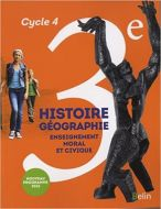Histoire-Geographie cycle 4 3e Belin 9782701198514