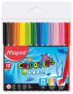 Maped color pens Ocean  set of 12 markers