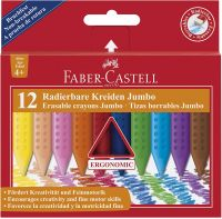 Faber-Castell Jumbo Grip Crayons (Pack of 12)