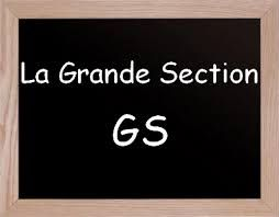 Grande Section Maternelle