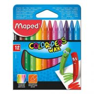 Maped Color Peps Wax Crayons 12 Colors