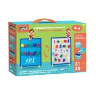 MAGNETIC/BLACK BOARD GREEK LETTERS AND NUMBERS LUNA