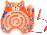 Tooky Toy Maze Cat - Multicolour Magnetic toy 18m+