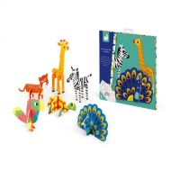 Janod J07785 3D pictures Animals creative Game toy boys girls