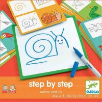 Eduludo Step By Step Animals' and Co by Djeco age 4-7