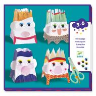 Djeco Young children - Cutting out Snip snip, characters 09870
