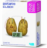 Science Museum Potato Clock by 4M creative toy