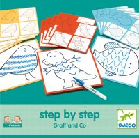 Eduludo Step By Step Graff' and Co by Djeco age 3-7