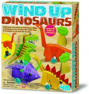 4M Wind-Up Dinosaurs Kit creative toy boys girls